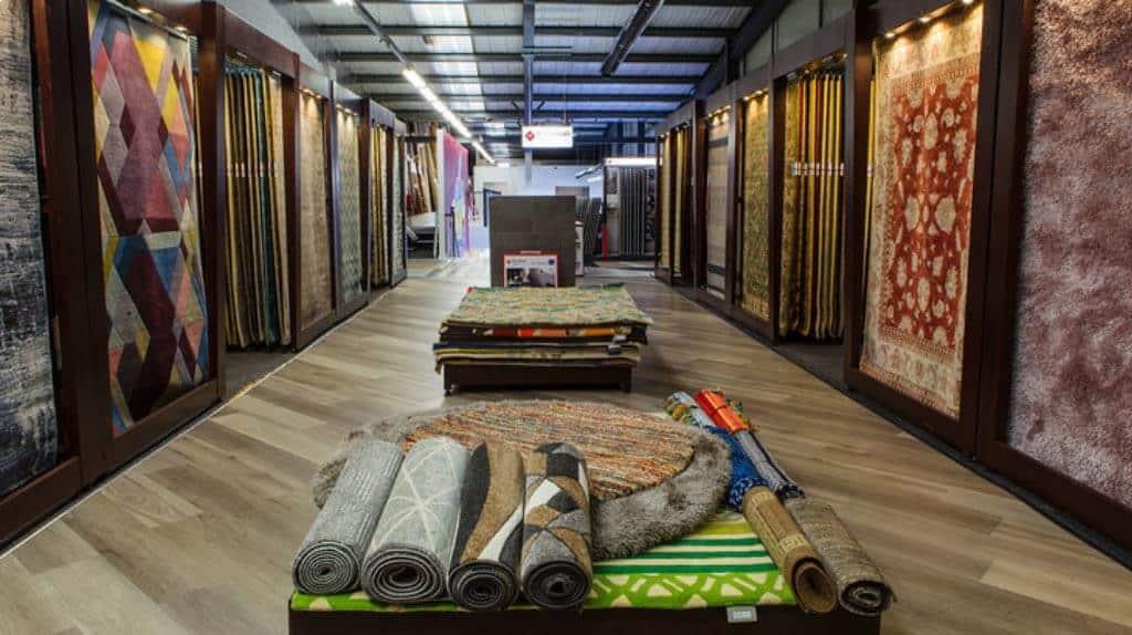 TC Matthews Flooring Showroom