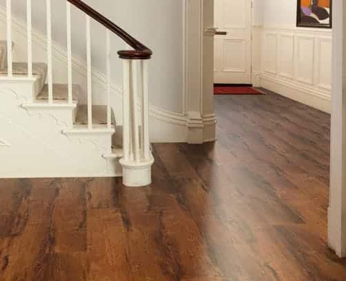 TC Matthews Karndean Flooring Example Wood Effect in Hallway