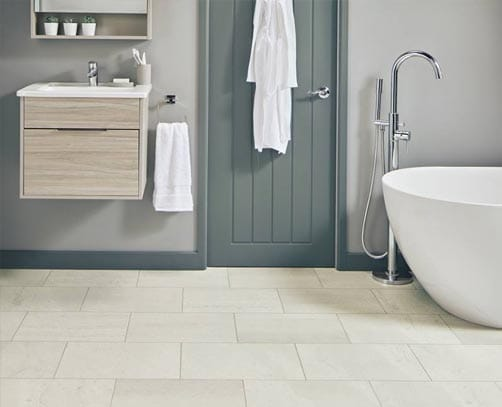 TC Matthews Karndean Flooring Example Bathroom
