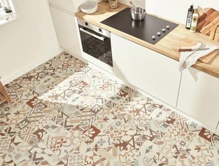 TC Matthews Karndean Flooring Example Kitchen